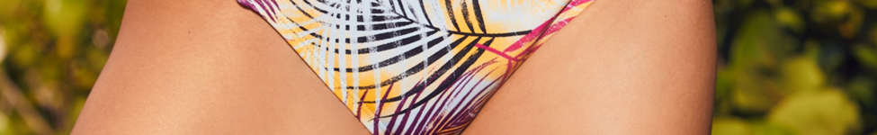 Thumbnail View 1: Out From Under Printed Strappy Low-Rise Bikini Bottom