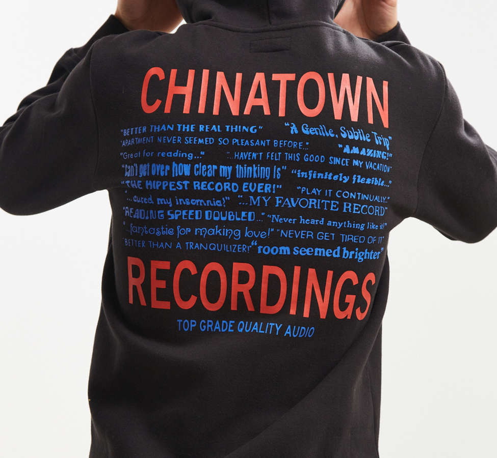 Slide View: 1: Chinatown Market Recordings Hoodie Sweatshirt