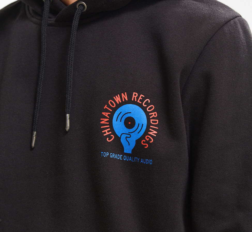 Slide View: 4: Chinatown Market Recordings Hoodie Sweatshirt
