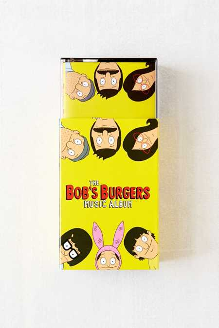 Various Artists - The Bob's Burgers Music Album 2X Cassette Tape