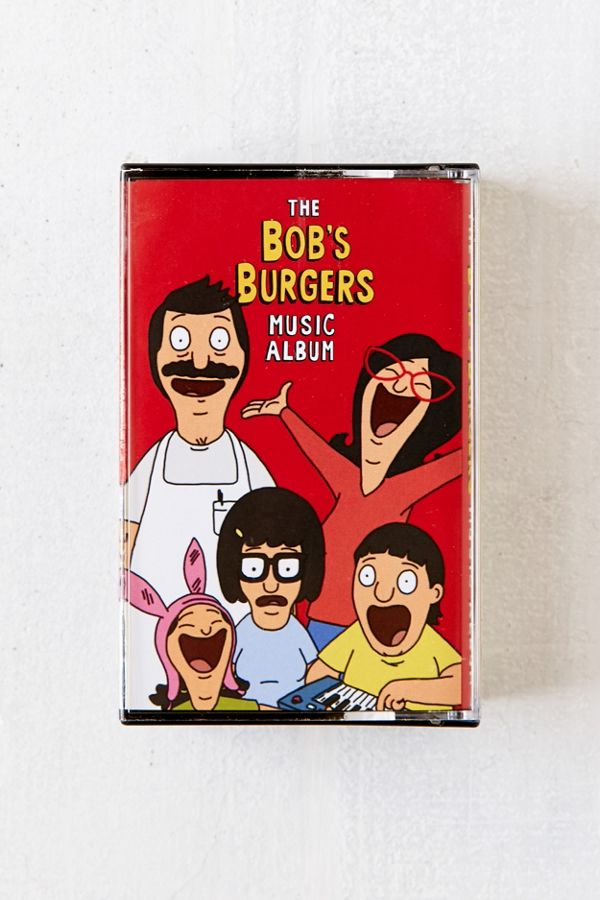 various artists the bob s burgers music album 2x cassette tape