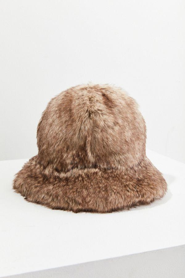 Faux Fur Bucket Hat  d86f71cda9d