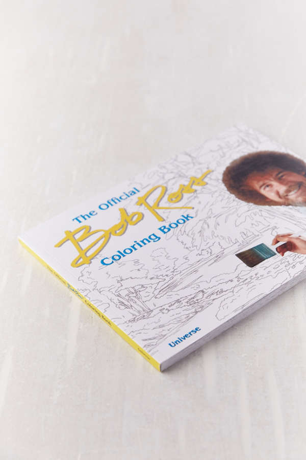 Slide View 3 The Bob Ross Coloring Book
