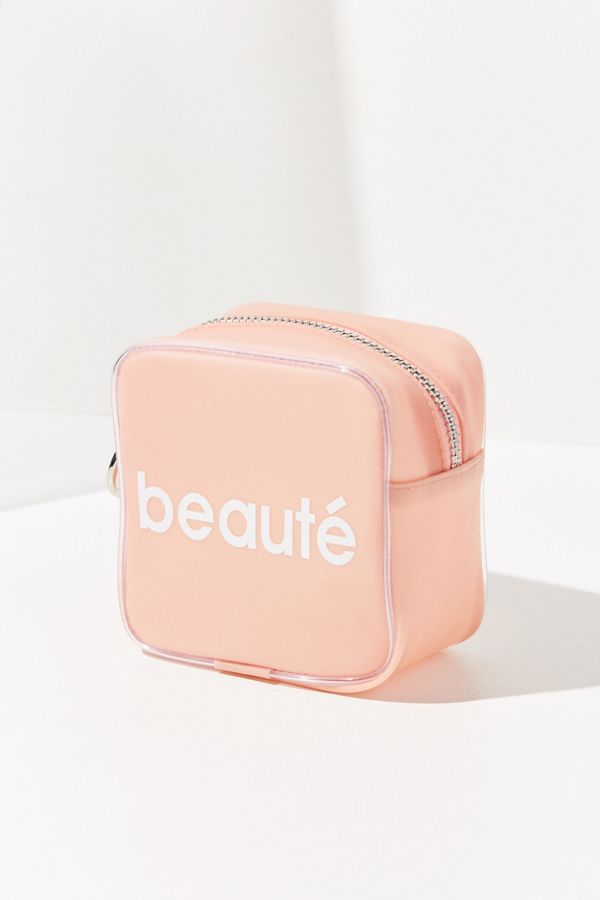 Slide View 1 Small Jelly Makeup Bag