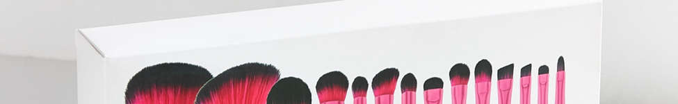 Thumbnail View 4: bh cosmetics Metallic Pink 14 Piece Brush Set