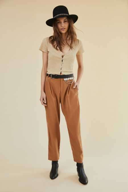 UO Silky Soft Straight-Leg Pant