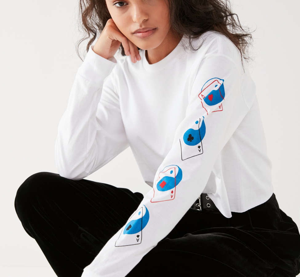 Slide View: 1: Scott Young X UO Aces Long Sleeve Shirt