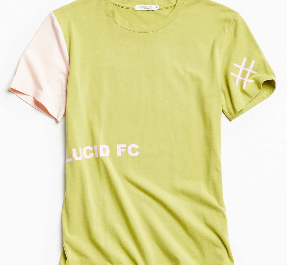 Slide View: 1: Lucid FC Notch Neck Patch Tee