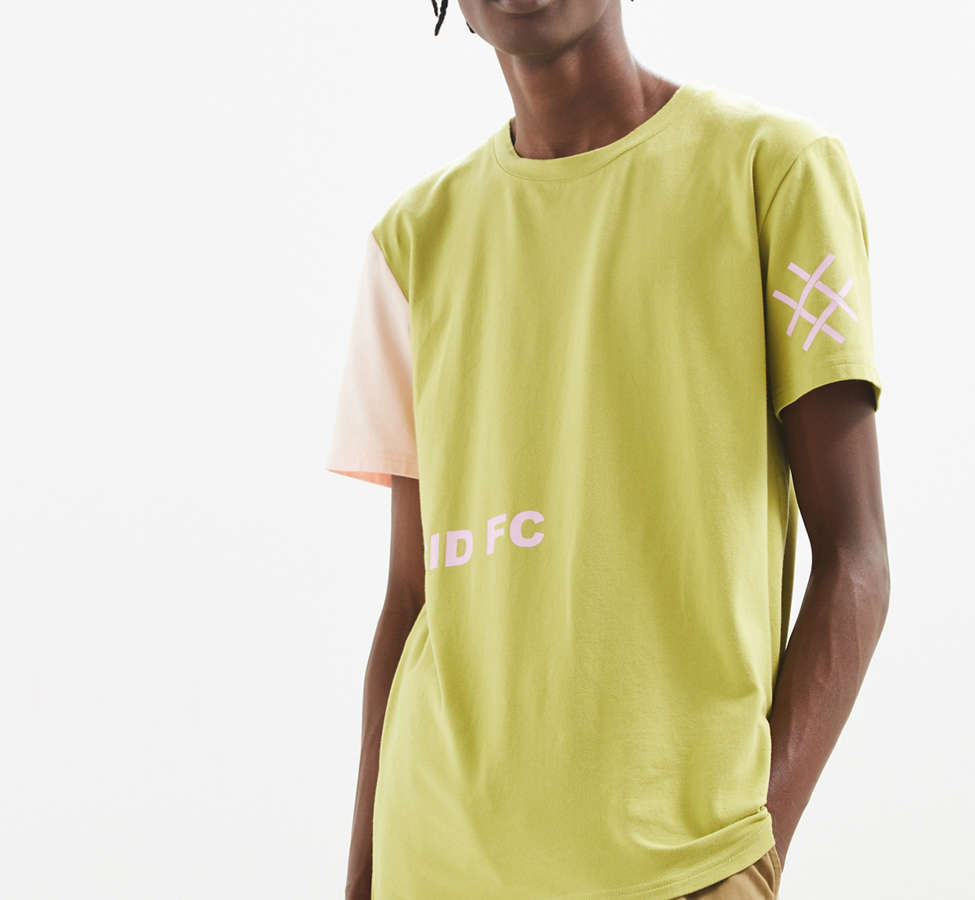 Slide View: 2: Lucid FC Notch Neck Patch Tee
