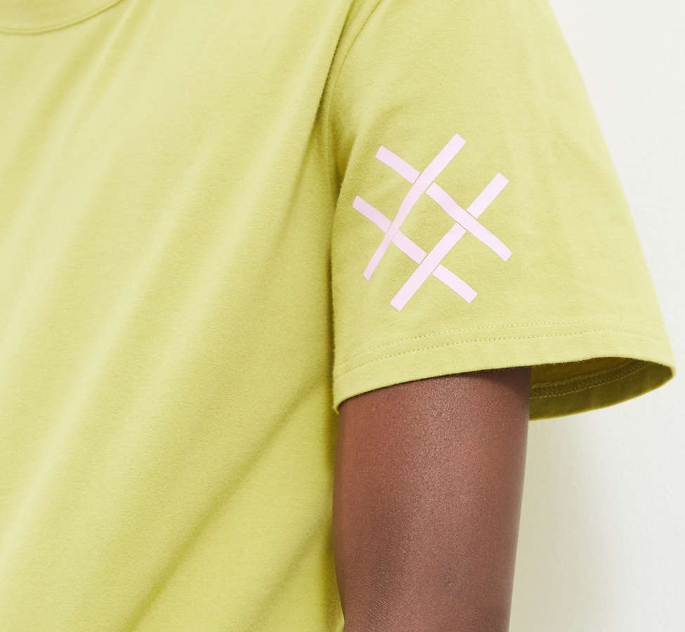 Slide View: 3: Lucid FC Notch Neck Patch Tee