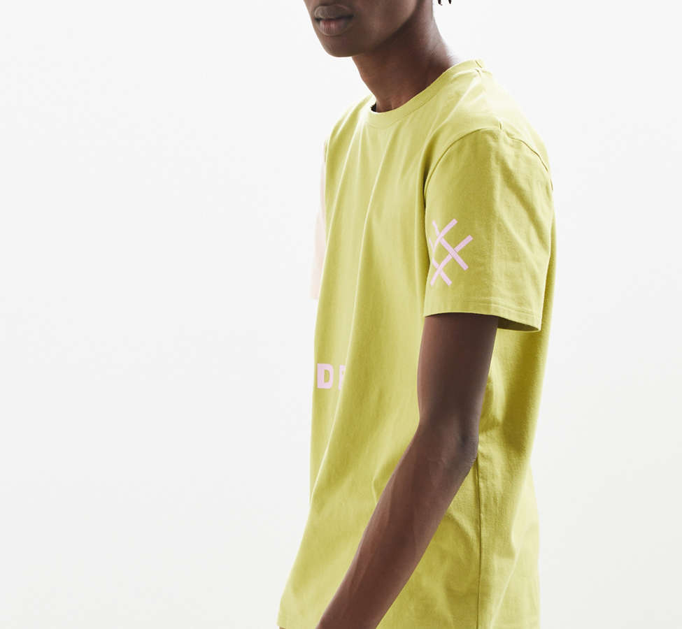 Slide View: 4: Lucid FC Notch Neck Patch Tee