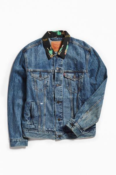 Levi's Hula Collar Denim Trucker Jacket by Levi's