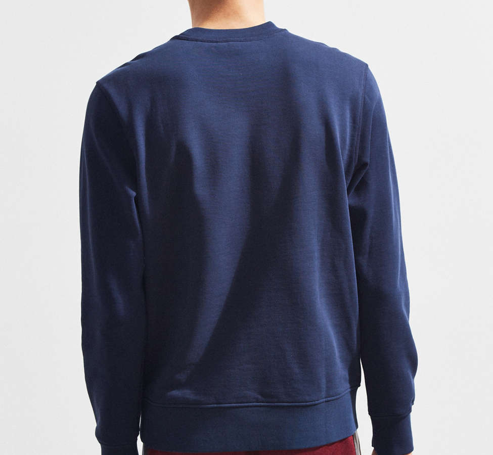 Slide View: 4: Lacoste Embroidered Crew Neck Sweatshirt