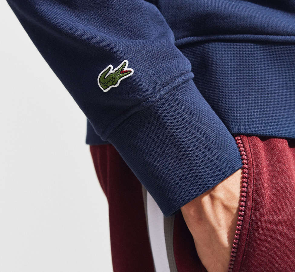 Slide View: 5: Lacoste Embroidered Crew Neck Sweatshirt