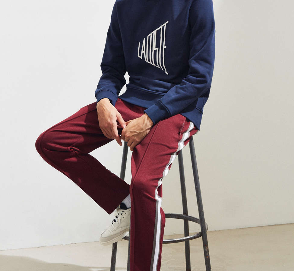 Slide View: 6: Lacoste Embroidered Crew Neck Sweatshirt