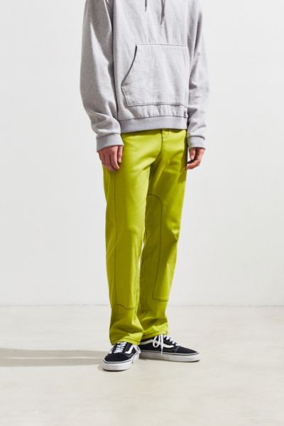 Lucid FC Pieced Trouser Pant - Lime S at Urban Outfitters
