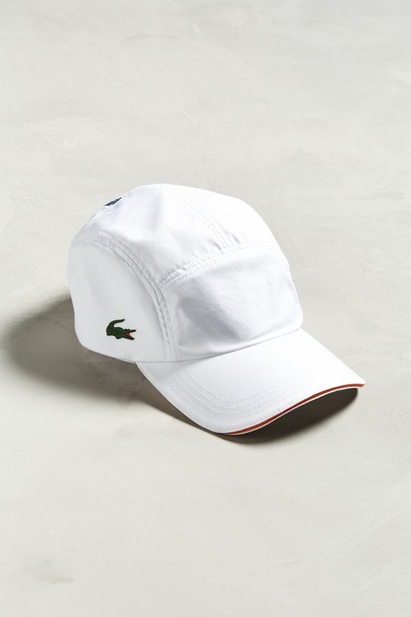 Lacoste Diamond Weave 5-Panel Hat  2431e372634