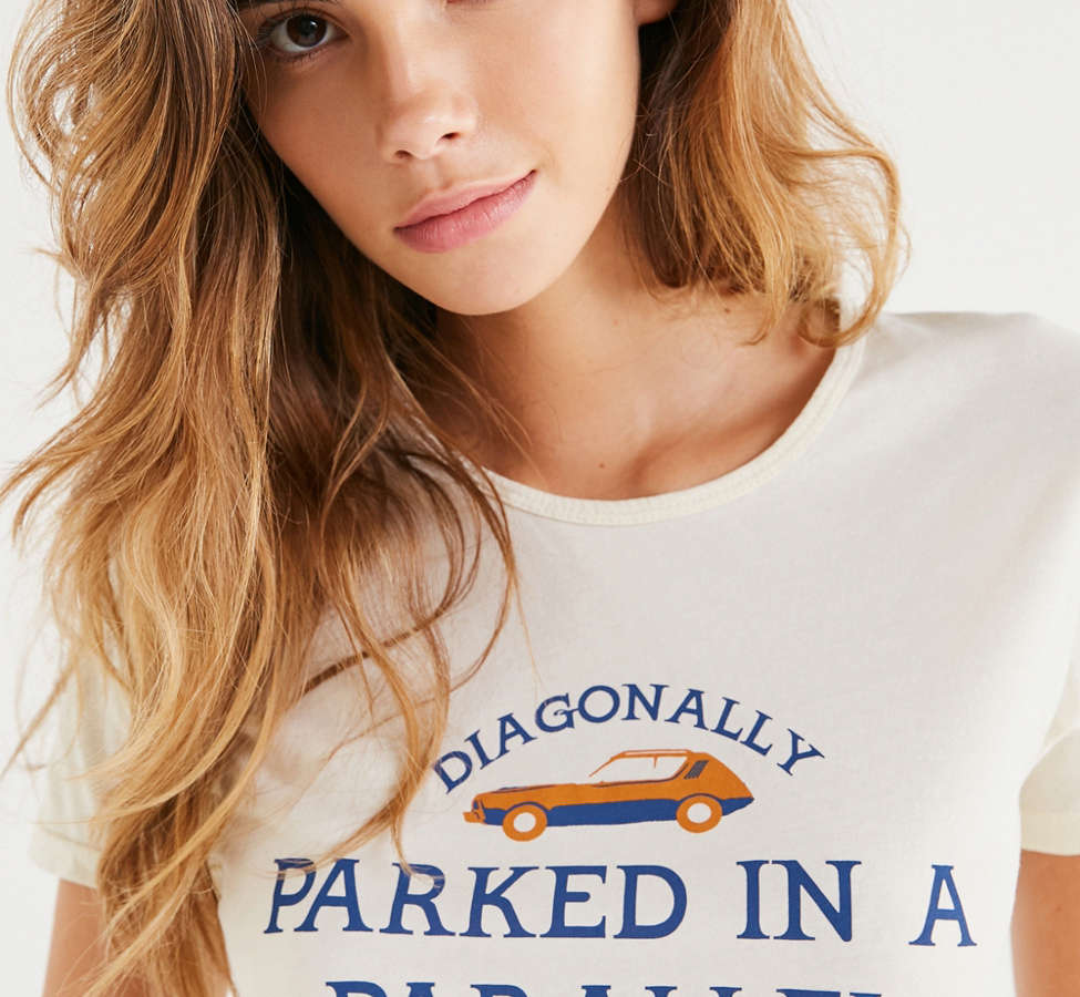 Slide View: 1: Sugarhigh Lovestoned Parallel Parked Tee