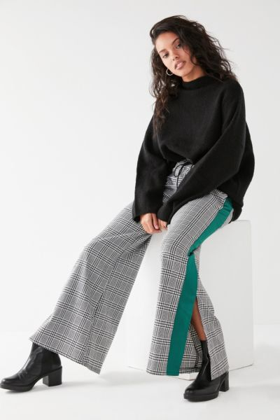 The Ragged Priest Player Plaid Pant - Black Multi XS at Urban Outfitters