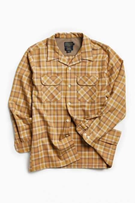 Pendleton Fitted Board Flannel Button-Down Shirt