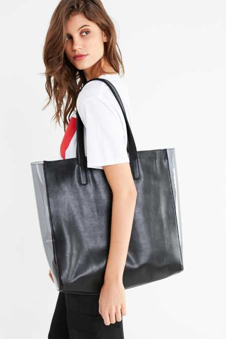 Clear Gusset Tote Bag
