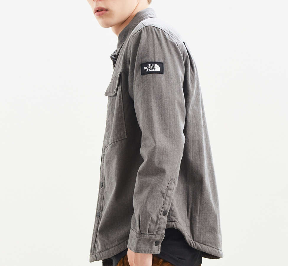 Slide View: 4: The North Face Campground Sherpa Shirt Jacket