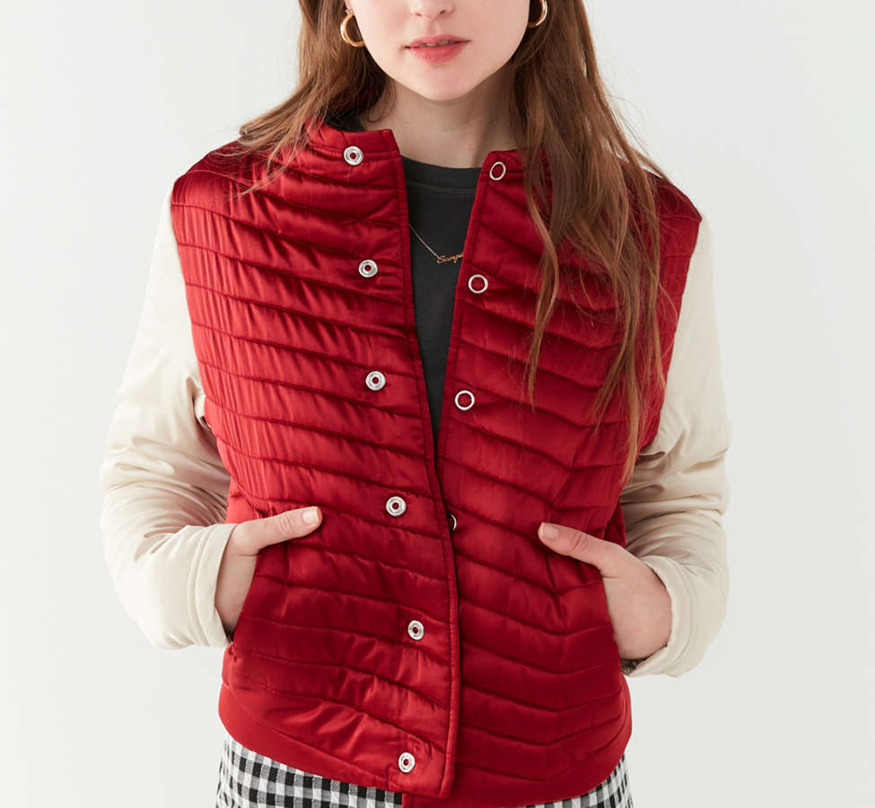 Slide View: 2: UO Polly Quilted Puffer Jacket