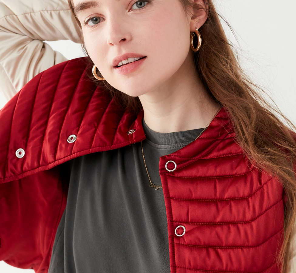 Slide View: 4: UO Polly Quilted Puffer Jacket