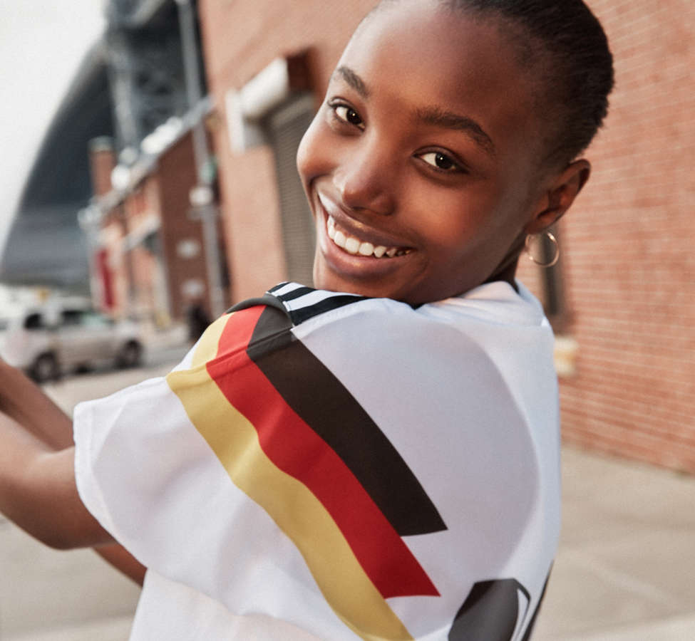 Slide View: 2: adidas Germany Soccer Top
