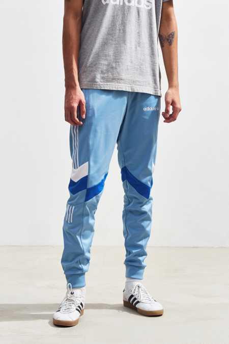 Vintage 90s Urban Blue Slick Pants