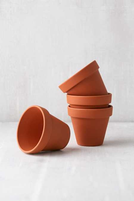 Mini Terracotta Pot - Set of 4