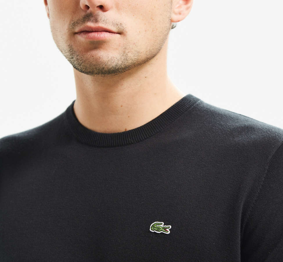 Slide View: 1: Lacoste Crew Neck Sweater