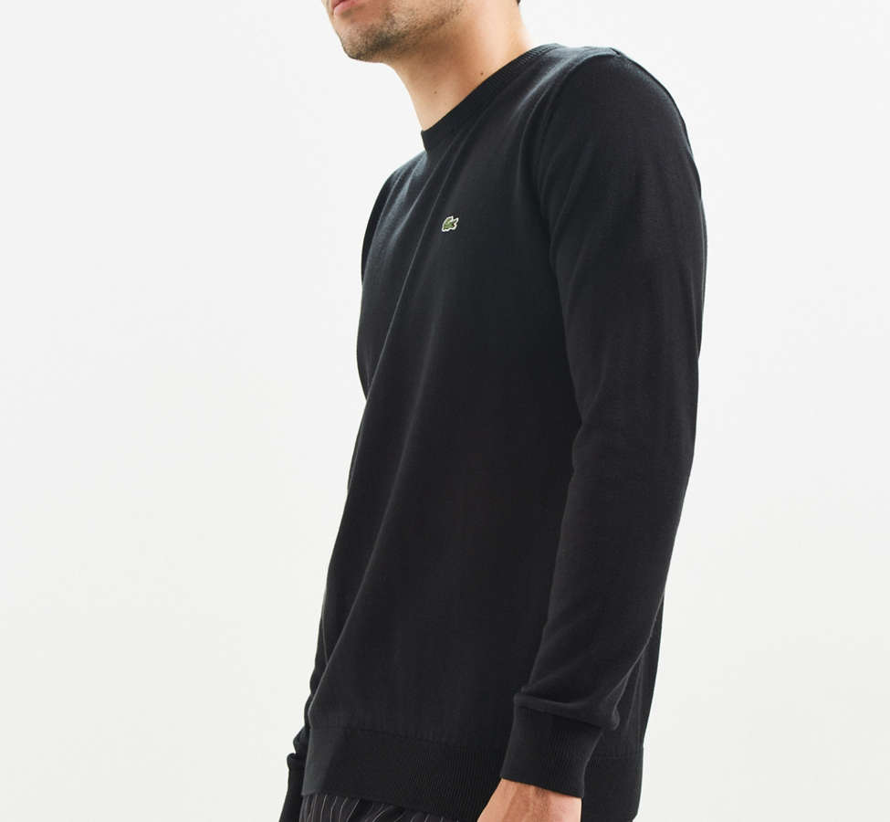Slide View: 3: Lacoste Crew Neck Sweater