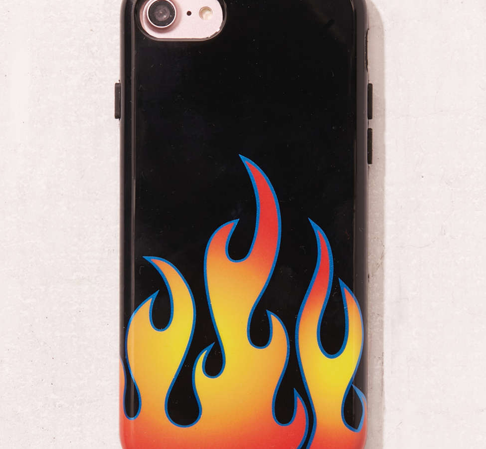 Slide View: 1: Flames iPhone 7/8 Case
