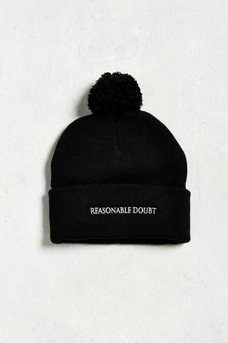 Jay-Z Reasonable Doubt Pom Beanie