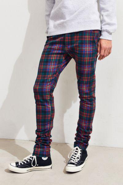 UO Tartan Skinny Pant