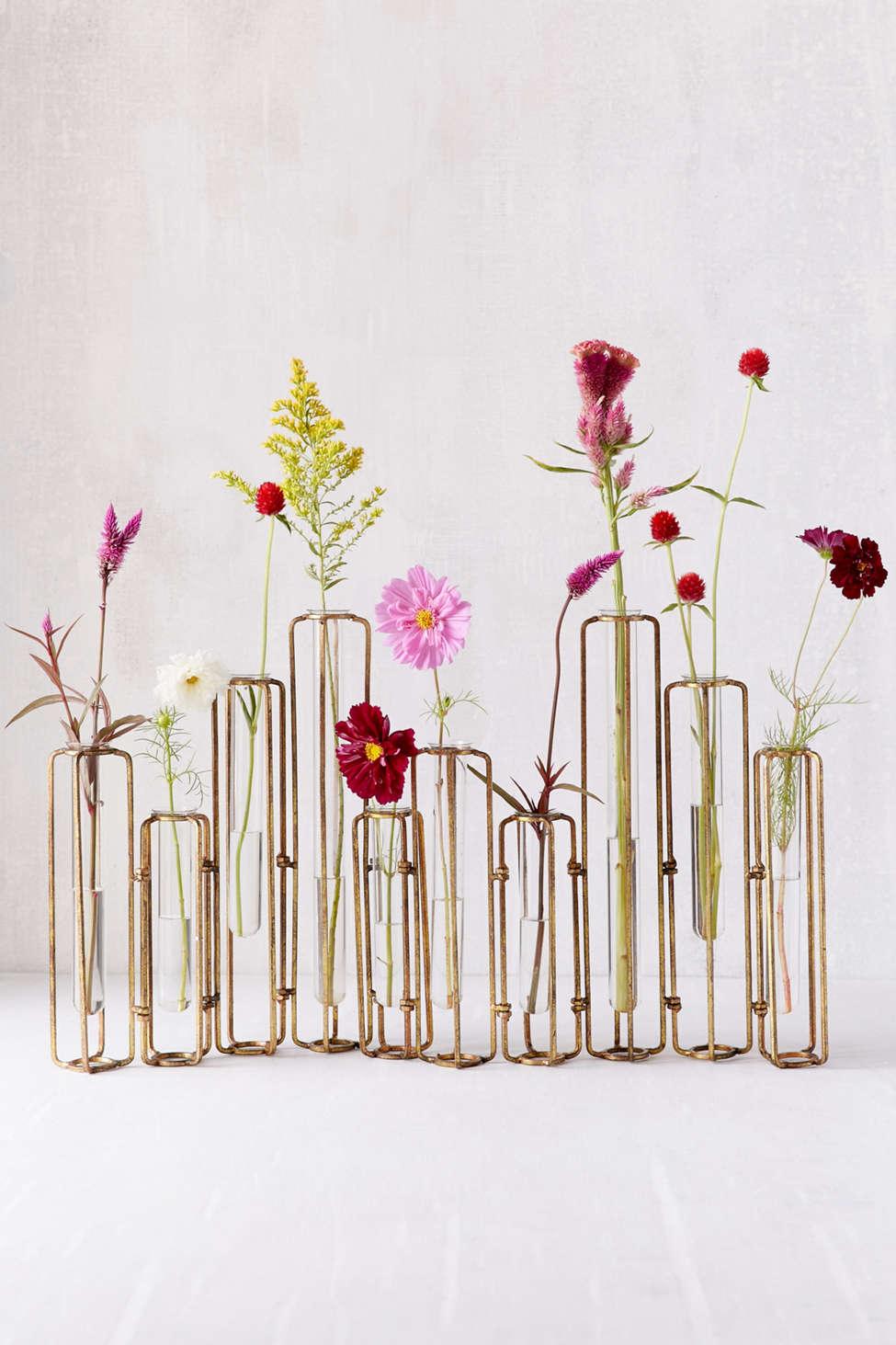 Slide View: 1: Jahanara Hinged Flower Vase