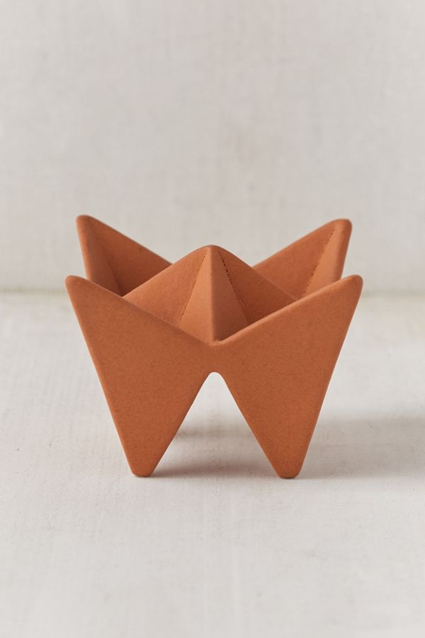 Slide View 1 Origami Fortune Teller Catch All Dish