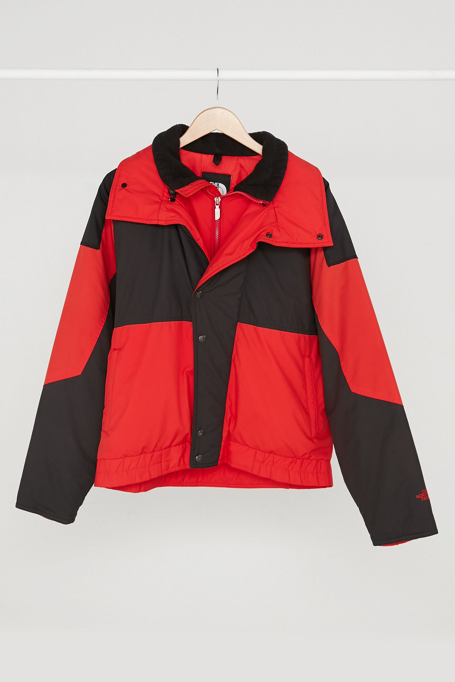 Vintage The North Face  70s Black + Red Puffer Jacket. Tap image to zoom.  Hover to zoom. Double Tap to Zoom 130d5bf1a
