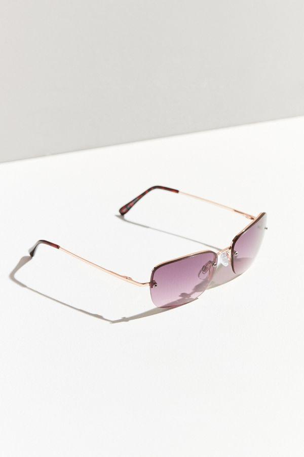 20254067d8 Roxanne Rimless Square Sunglasses