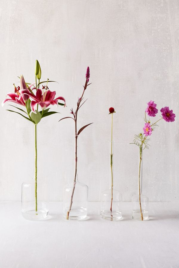 Tina Assorted Jug Vases Set Of 4 Urban Outfitters