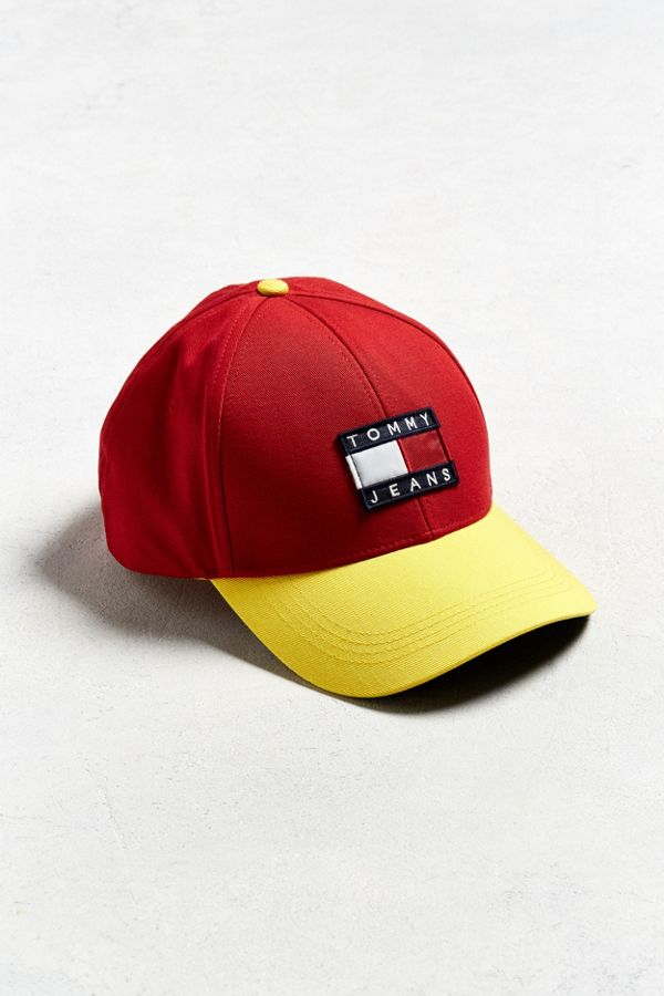 Tommy Hilfiger Colorblocked Flag Baseball Hat  cbbab6539cc
