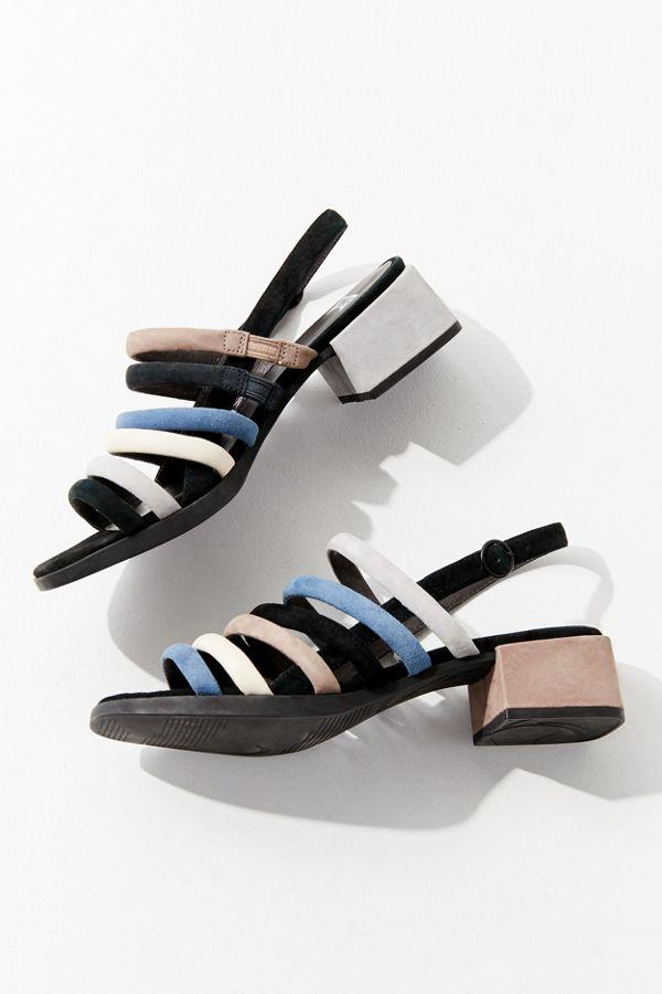 strapped sandals - Blue Camper pyGMeaC2Q