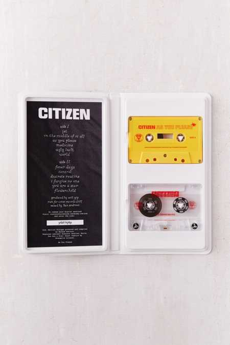 Citizen - As You Please Limited Cassette Tape
