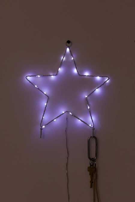 Light-Up Star Wall Hook