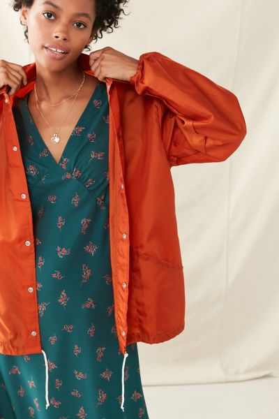 Vintage 1970s Coach Jacket - Rust S/M at Urban Outfitters