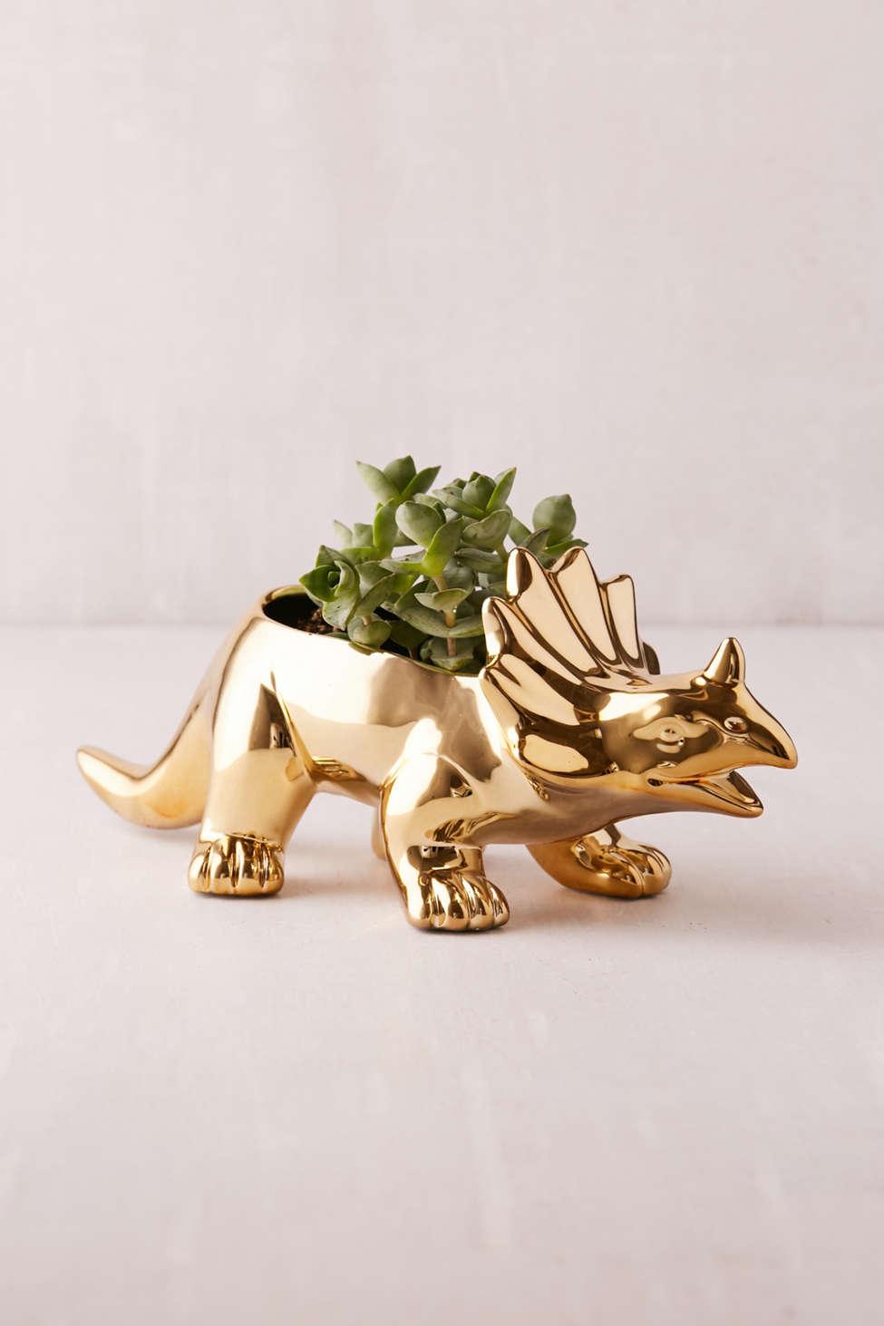 Slide View: 1: Tyler Triceratops Planter