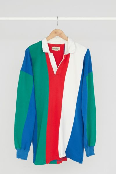 Vintage '90s Colorblocked Rugby Dress - Assorted One Size at Urban Outfitters