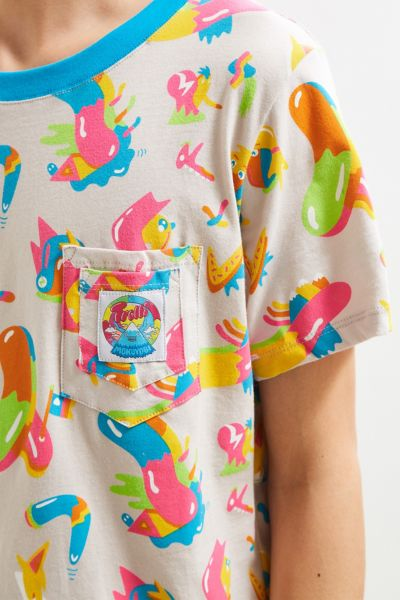 Mokuyobi X Trolli Pocket Tee - White S at Urban Outfitters