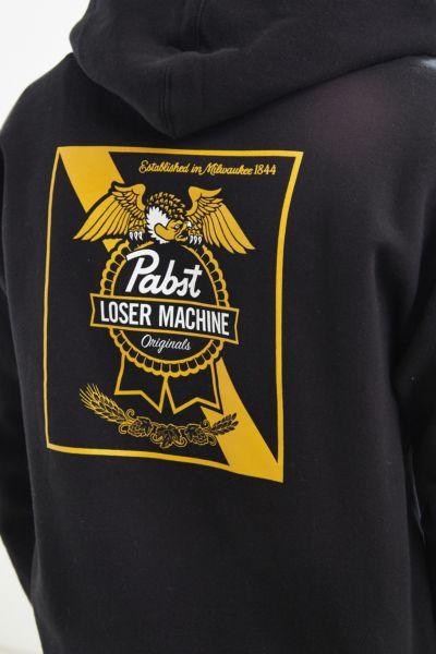 Loser Machine X PBR Condor Ribbon Hoodie Sweatshirt - Black S at Urban Outfitters